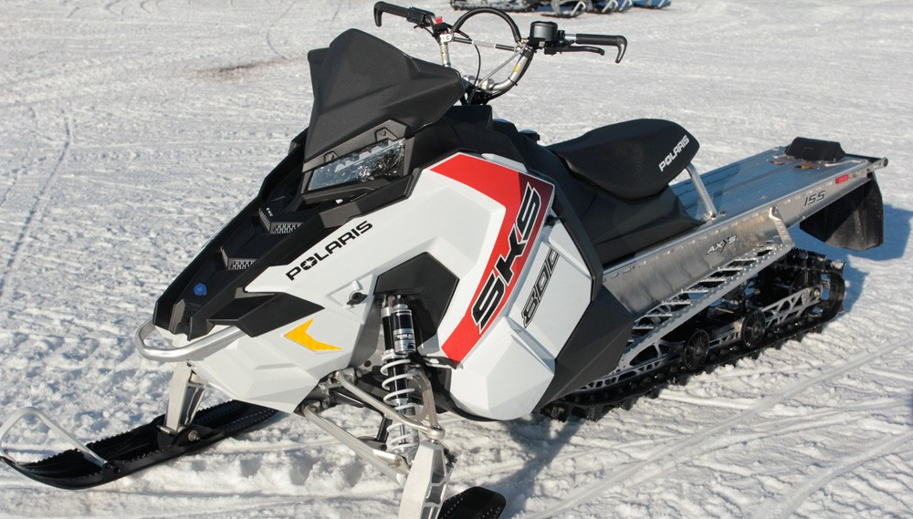2017 Polaris 800 Sks White