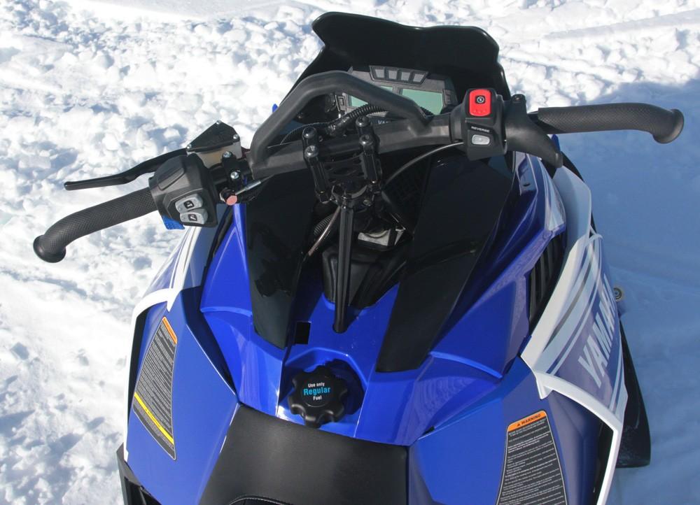 2017 Yamaha Viper M-TX Cockpit
