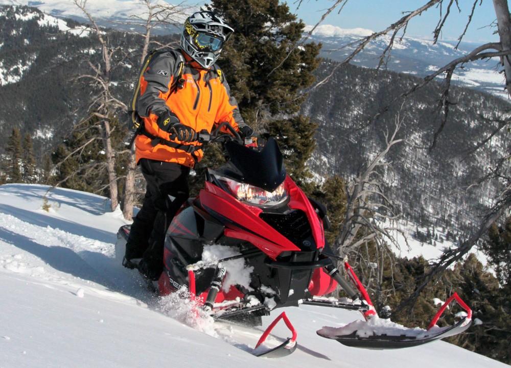 2017 Yamaha Viper M-TX Deep Keel Ski