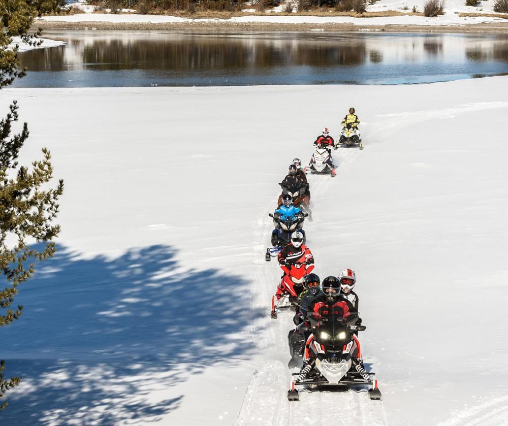 Riverside Snowmobile Trail