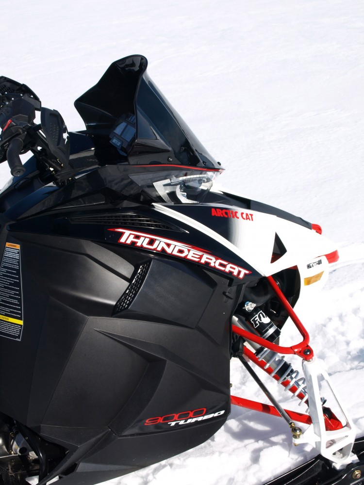 Arctic Cat utilizes partnerships like the one with Yamaha that results in this powerful turbocharged Thundercat.