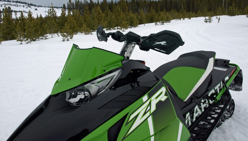 2017 Arctic Cat ZR 6000 RR Low Windshield