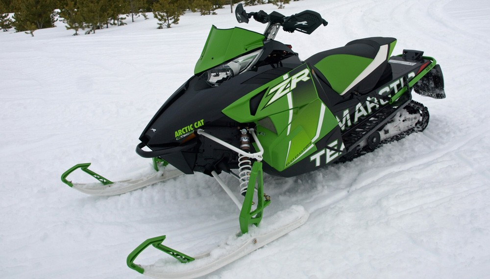 2017 Arctic Cat ZR 6000 RR Three Quarter