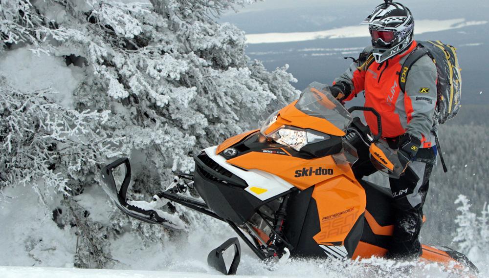 Ski Doo Renegade Backcountry X Chassis