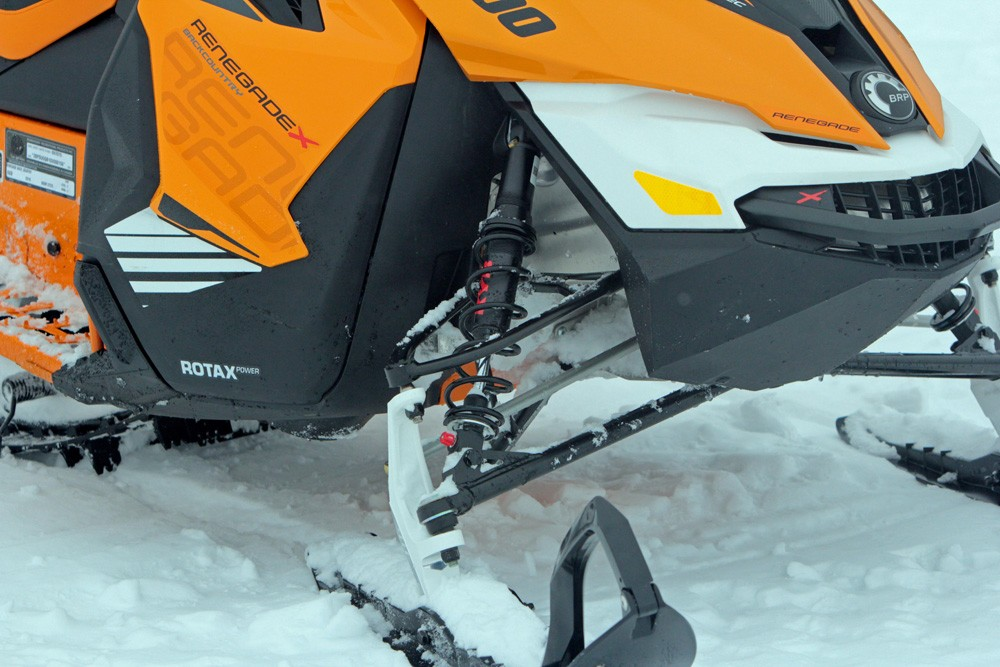 2017 Ski-Doo Renegade Backcountry X 800R Front Suspension