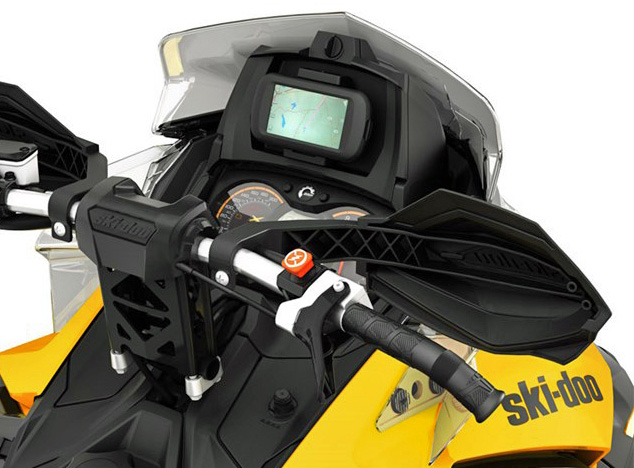 Ski-Doo GPS Installed