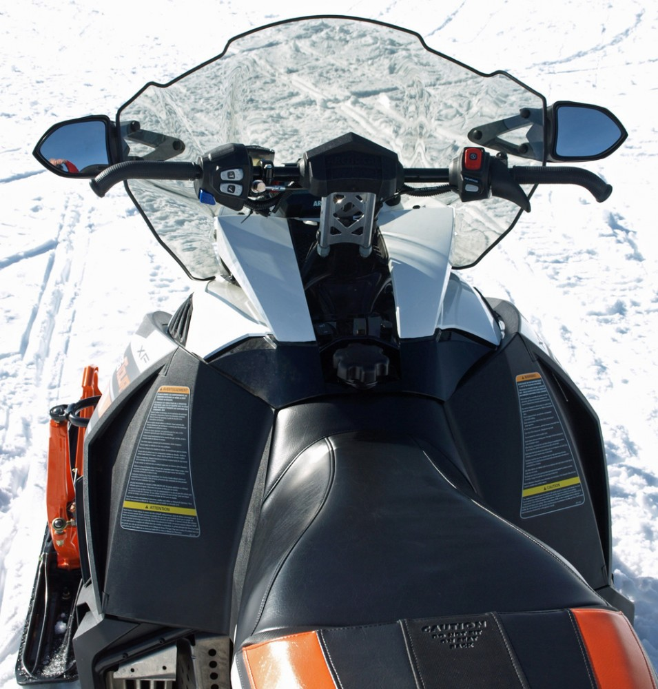 2017 Arctic Cat XF 7000 CrossTour Cockpit