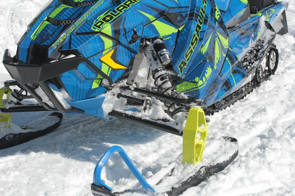 2017 Polaris 600 Switchback Assault ProSteer Ski