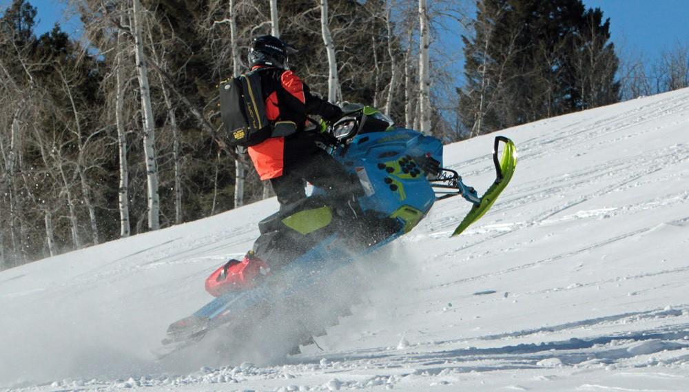 2017 Ski-Doo Freeride Action
