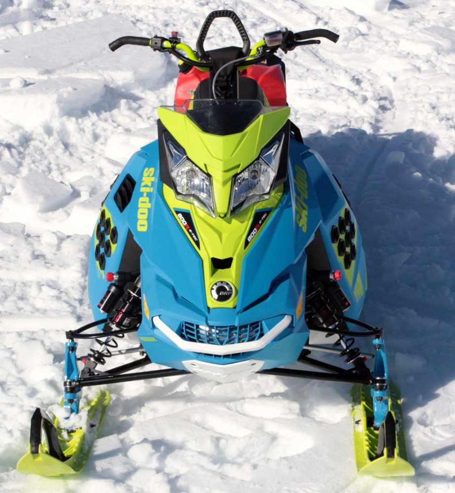 2017 Ski-Doo Freeride Blue Green