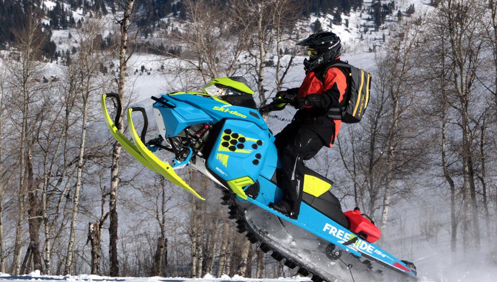 Ski Doo Freeride >> 2017 Ski-Doo Freeride Review - Snowmobile.com