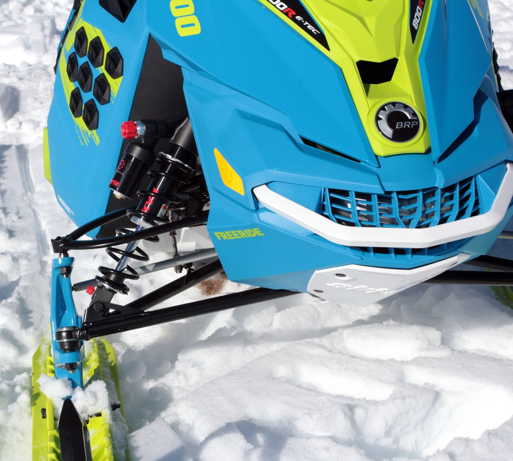 2017 Ski-Doo Freeride KYB Shocks