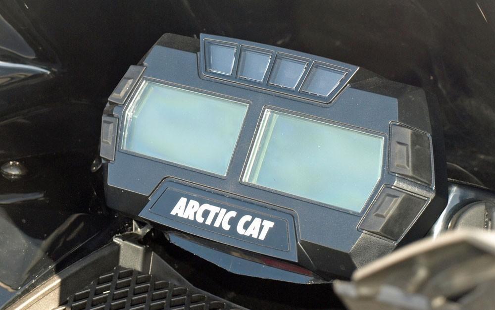 2017 Arctic Cat ZR 9000 LXR Readout