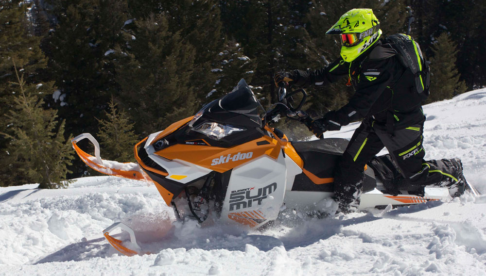2017 Ski Doo Summit X And Sp 174 Review Snowmobile Com
