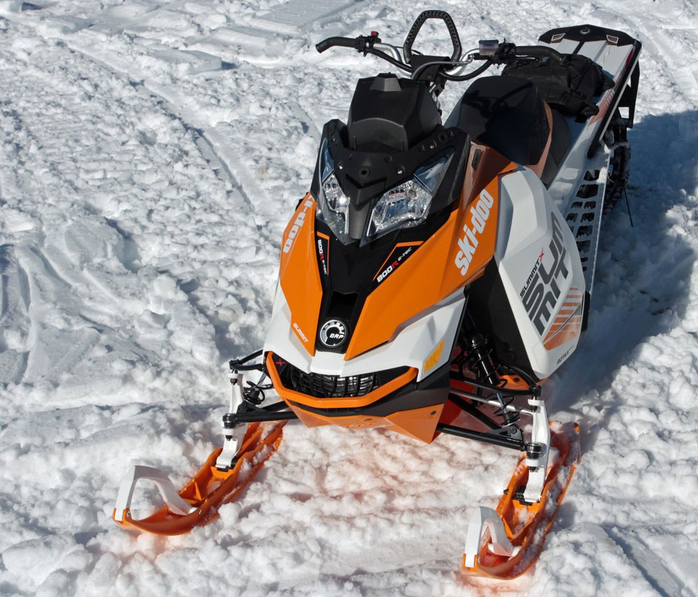 2017 Ski-Doo Summit X Front