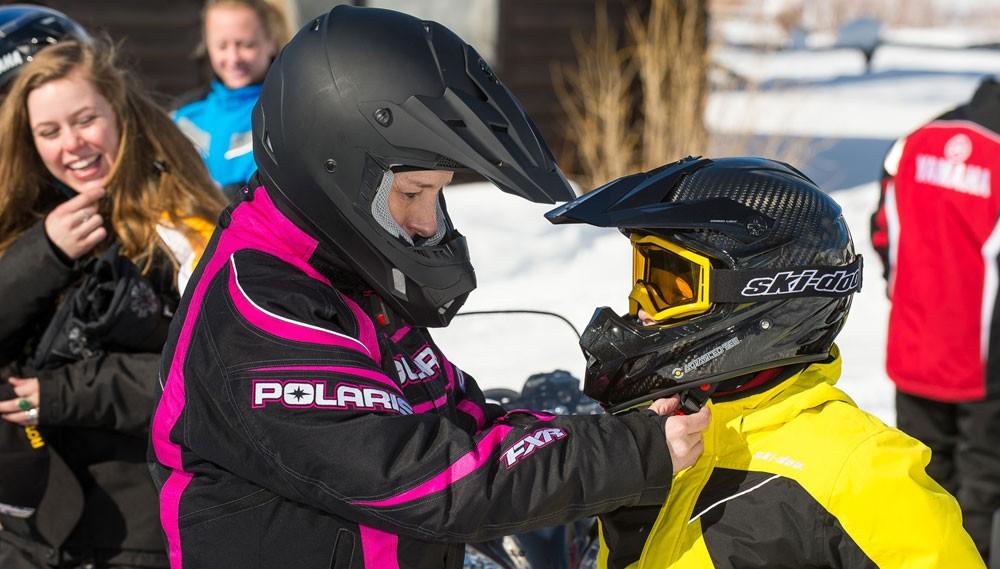 Helmet Adjustment