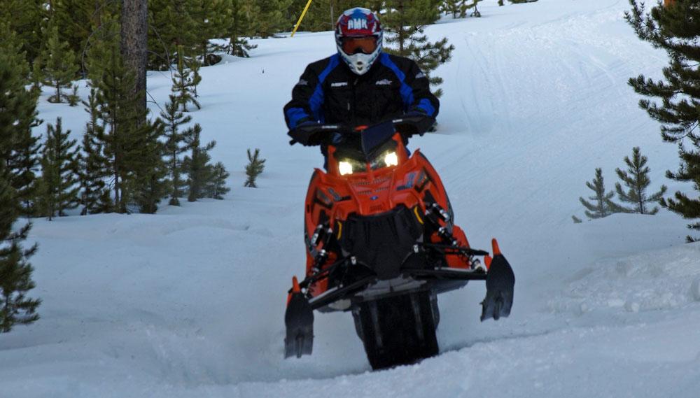 2017 Polaris 800 Rush Pro X Review Snowmobile Com