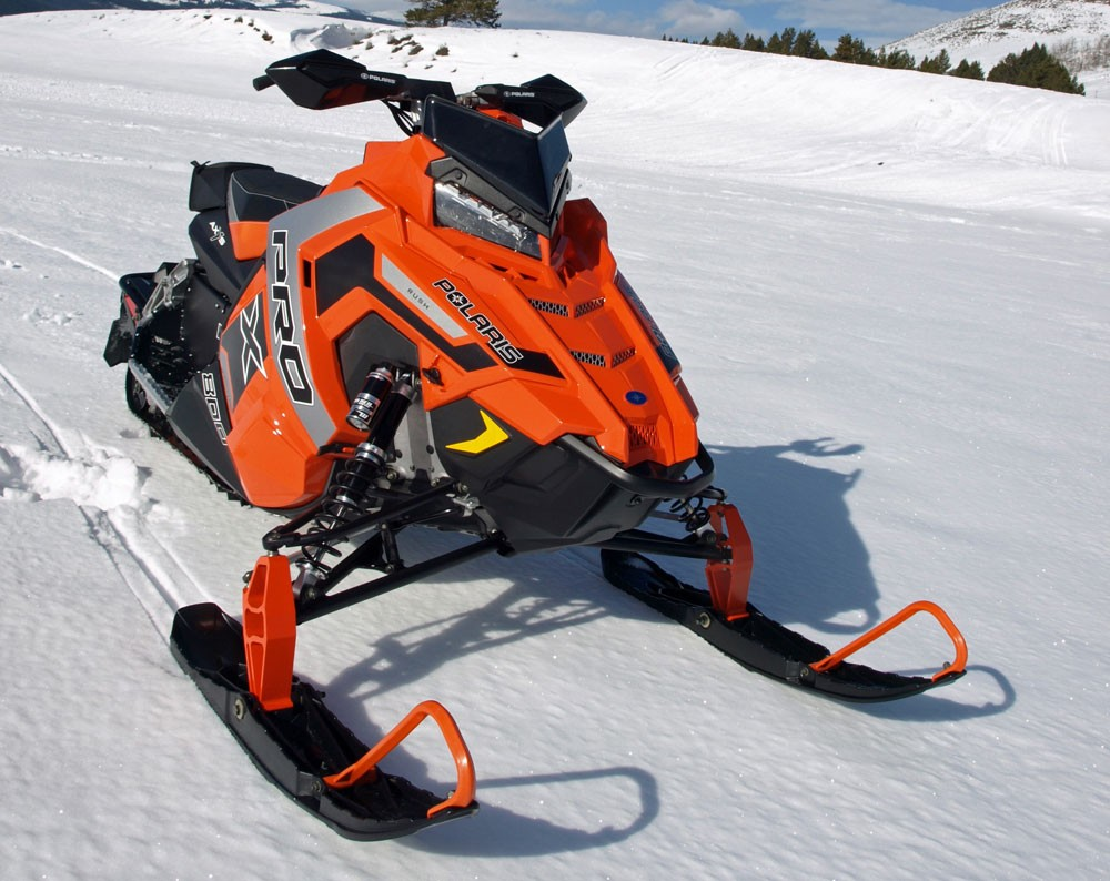 2017 Polaris 800 Rush Pro-X Front End Styling