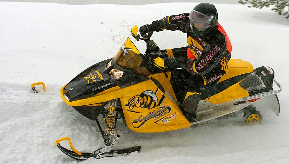 How Does A 2006 Ski Doo Mxz Compare To A Modern Sled