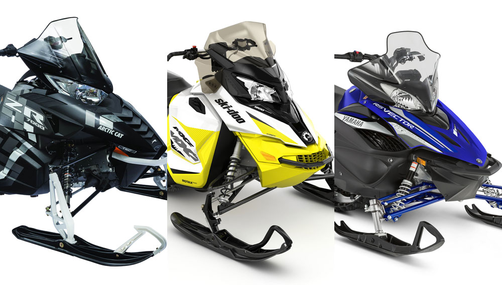 Four      Stroke    Sport Cruiser Comparison     Snowmobile