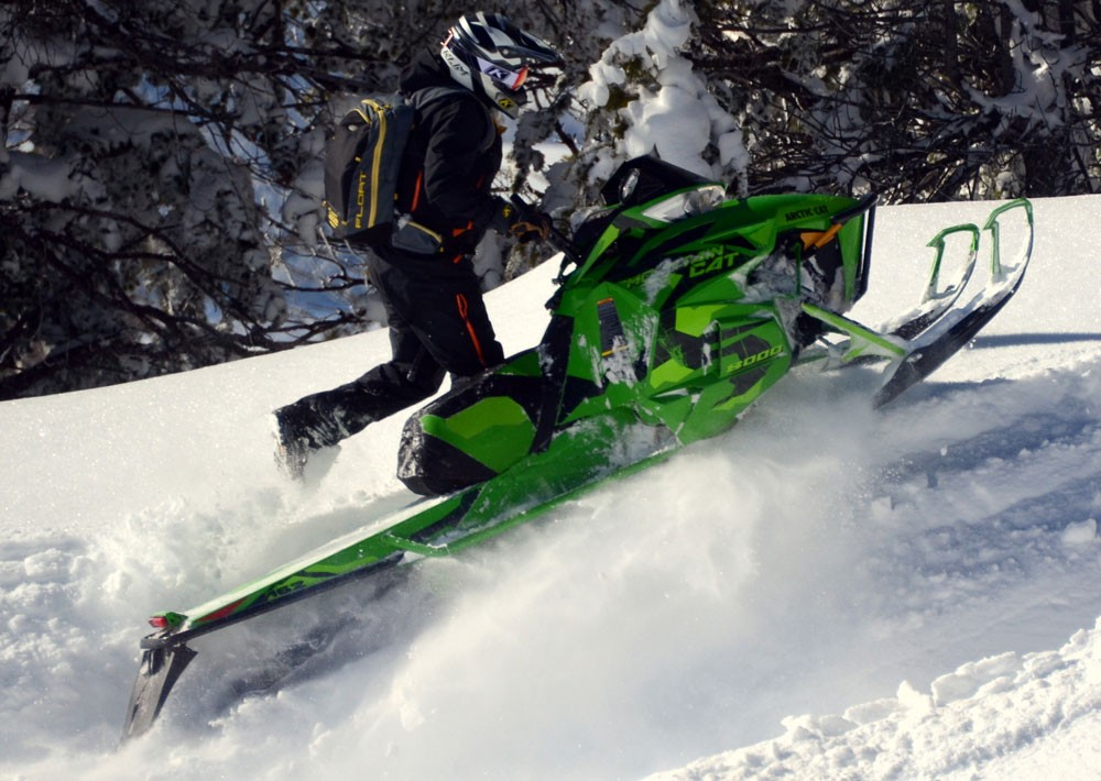 2017 Arctic Cat Mountain Cat Scorned