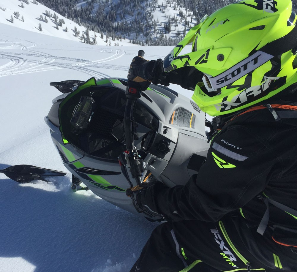 2018 Arctic Cat M8000 Sno Pro Action One Ski
