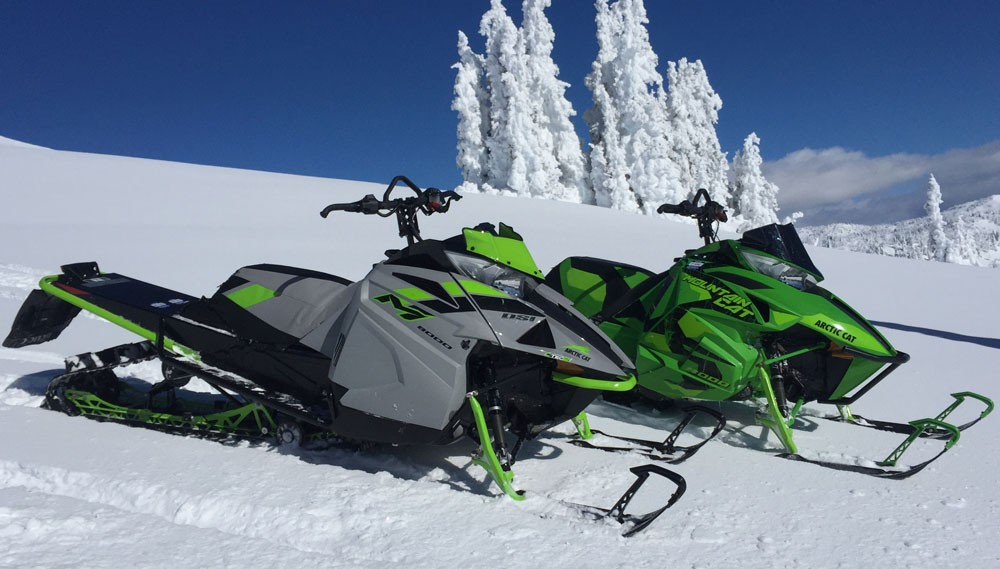 2018 Arctic Cat M8000 Sno Pro Action Pair