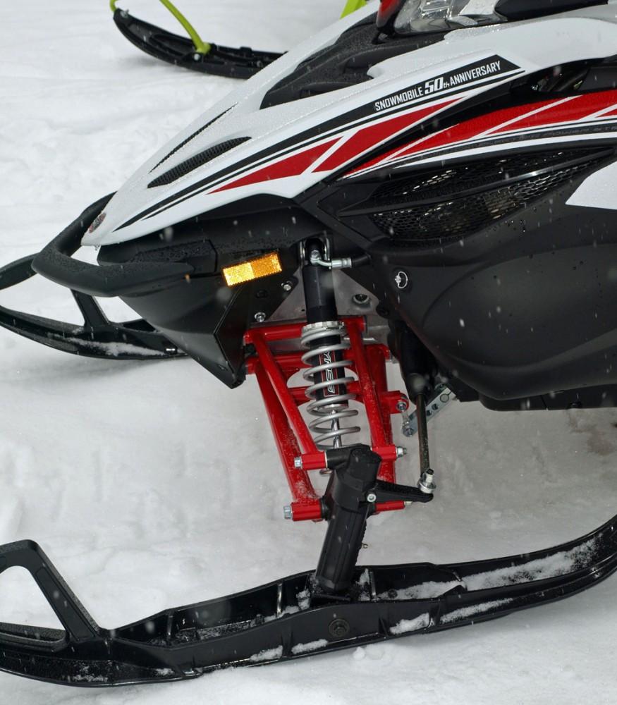 2018 Yamaha Apex Front Suspension