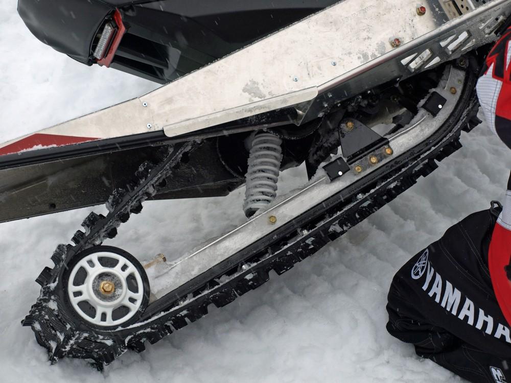 2018 Yamaha SnoScoot Rear Suspension