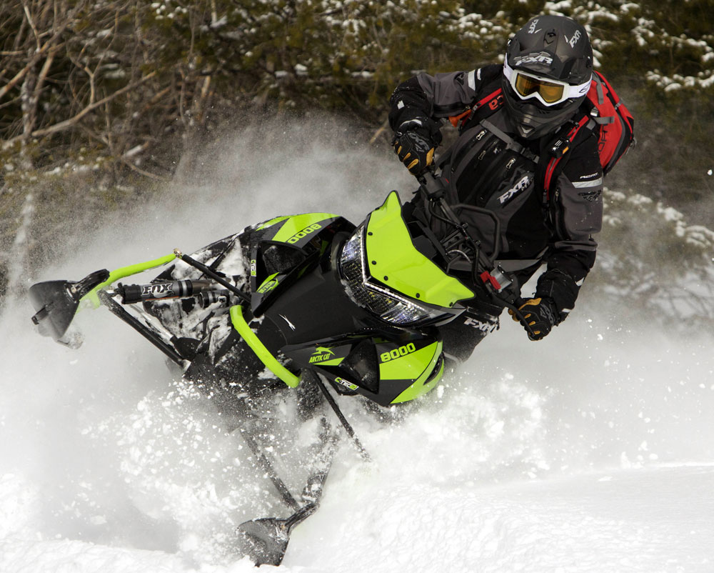 The 2018 Mountain Snowmobiles And Deep-Powder Crossovers ...