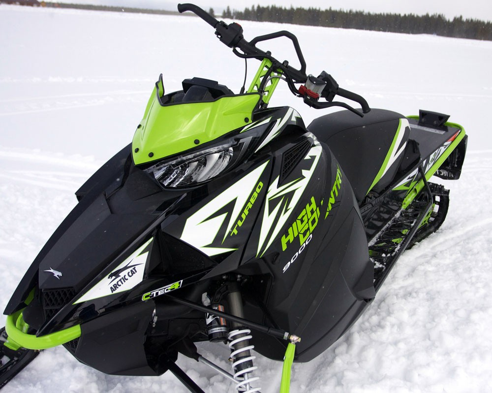 2018 Arctic Cat XF 9000 HC