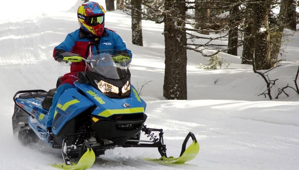 2018 Ski-Doo Renegade Backcountry X
