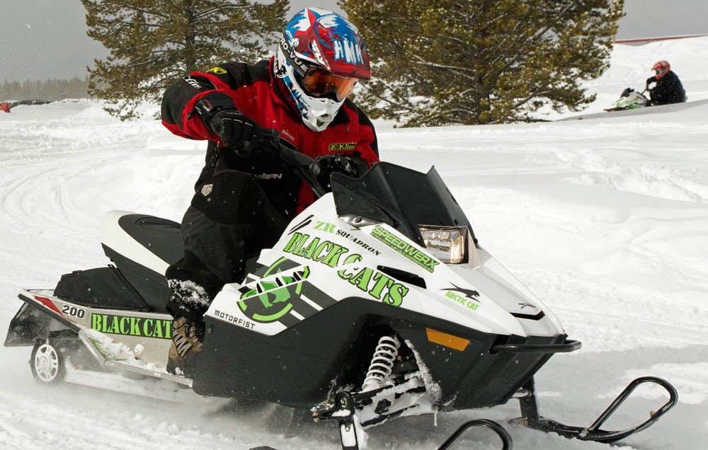 Arctic Cat ZR200 Race Mode
