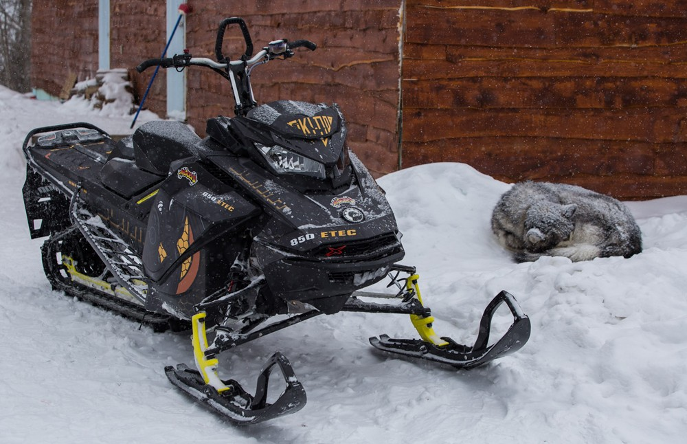 Ski-Doo Summit 850 Wrap