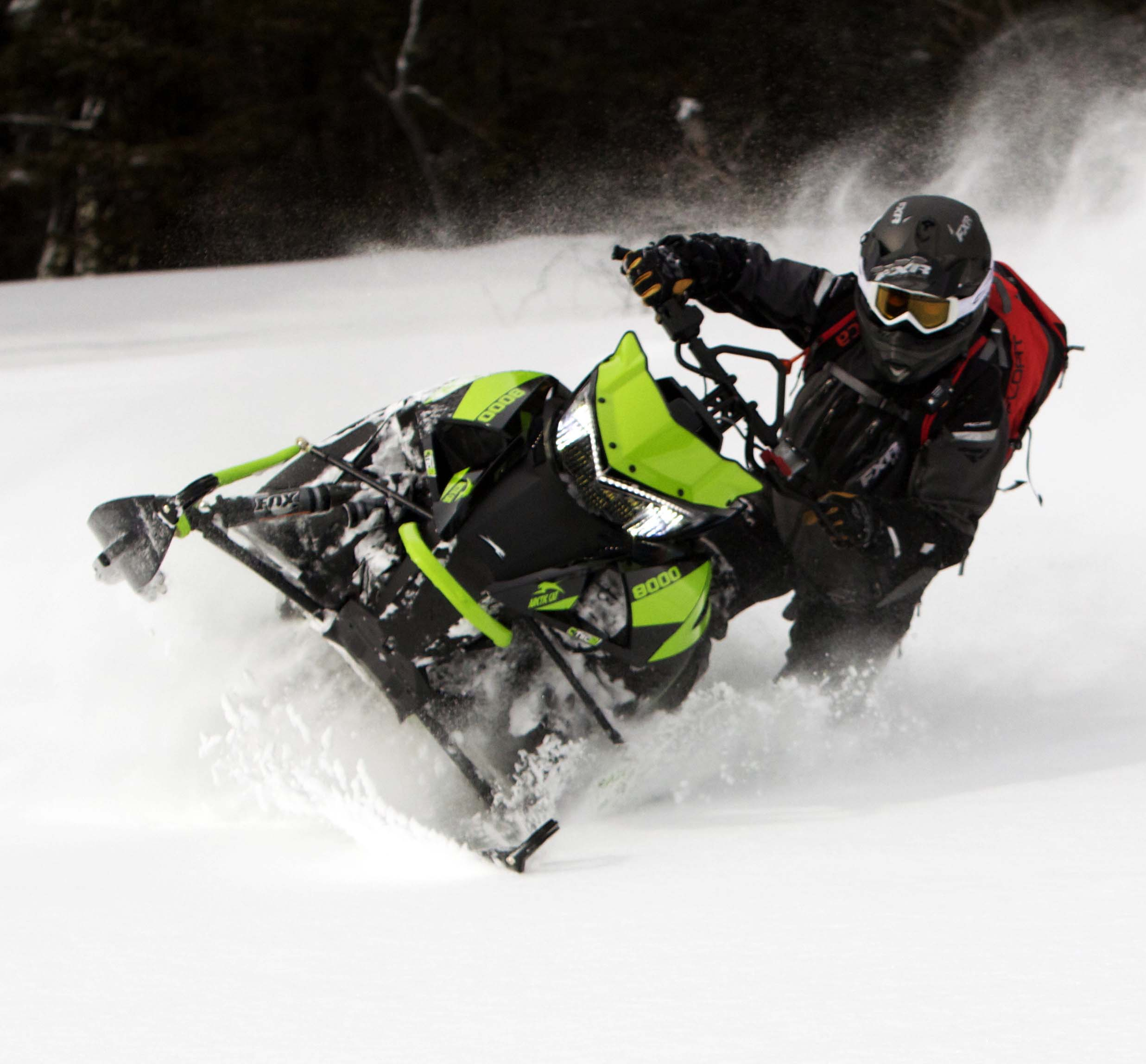 2018 Arctic Cat M8000 Mountain Cat Review + Video