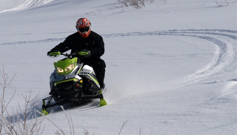 Despite the downturn in snowmobile sales, the Canadian market has remained steady.