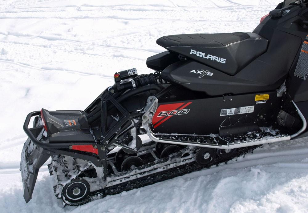 2018 Polaris 600 Switchback XCR Rear Suspension