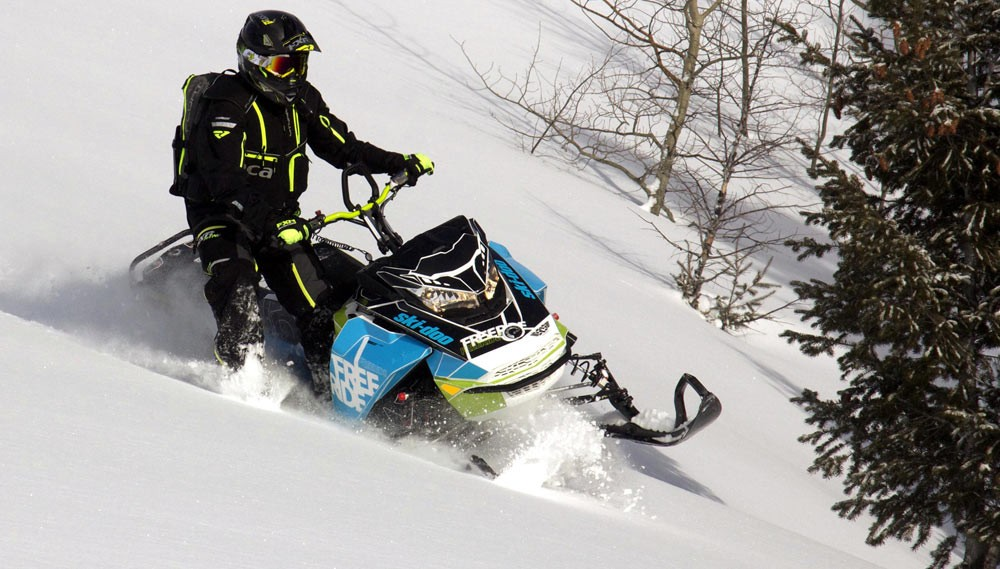 2018 Ski-Doo Freeride Beauty