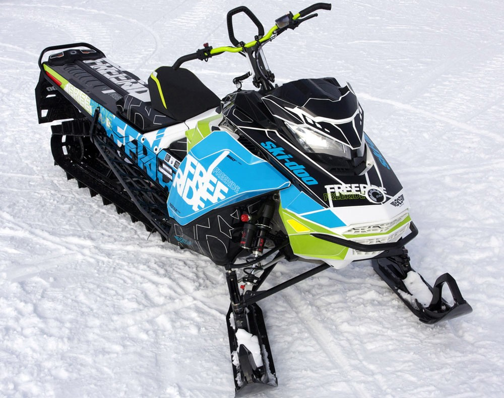 2018 Ski-Doo Freeride Wraps