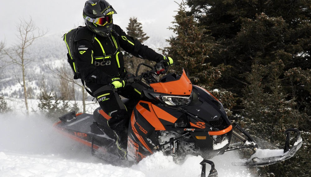 2018 Arctic Cat M9000 King Cat Cinched Panels