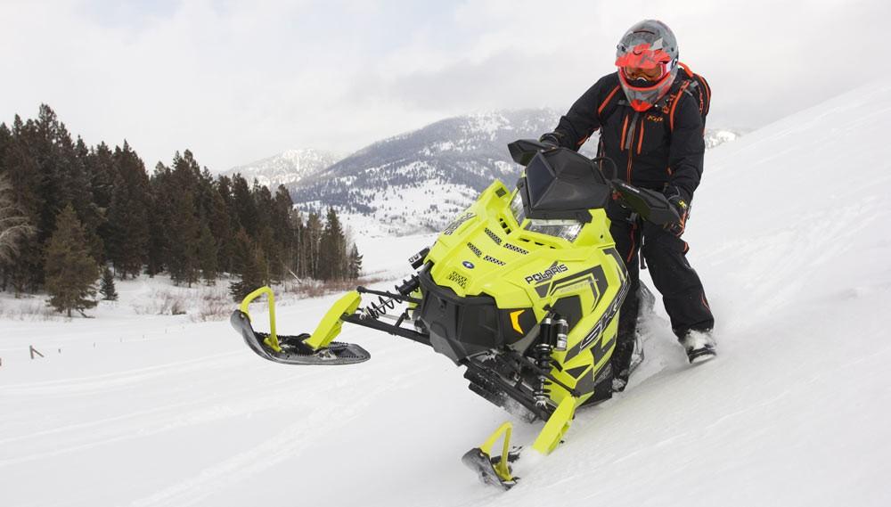 2018 Polaris AXYS SKS 146 Sidehill