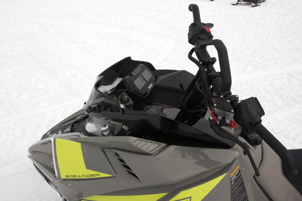 2018 Yamaha Sidewinder B-TX Cockpit