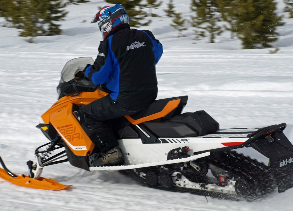 Long Track Snowmobile