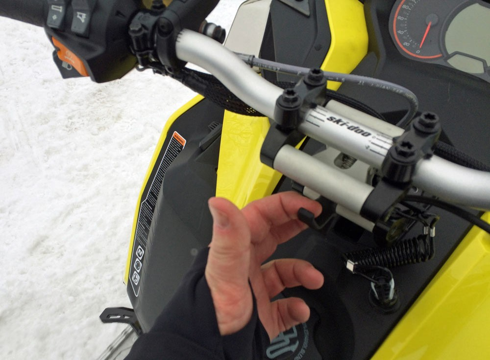 Ski-Doo Adjustable Handlebar