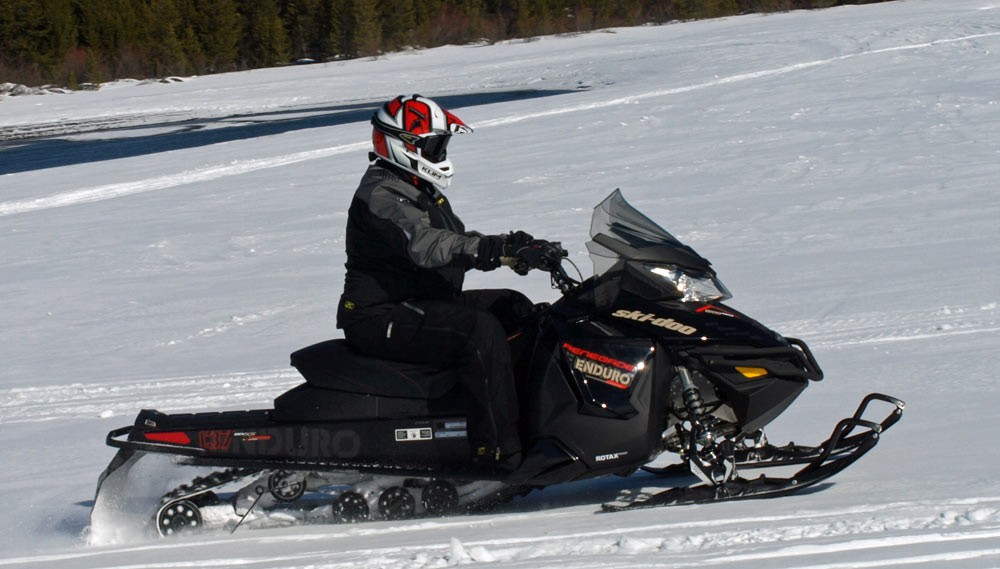 Ski-Doo Enduro Side Action