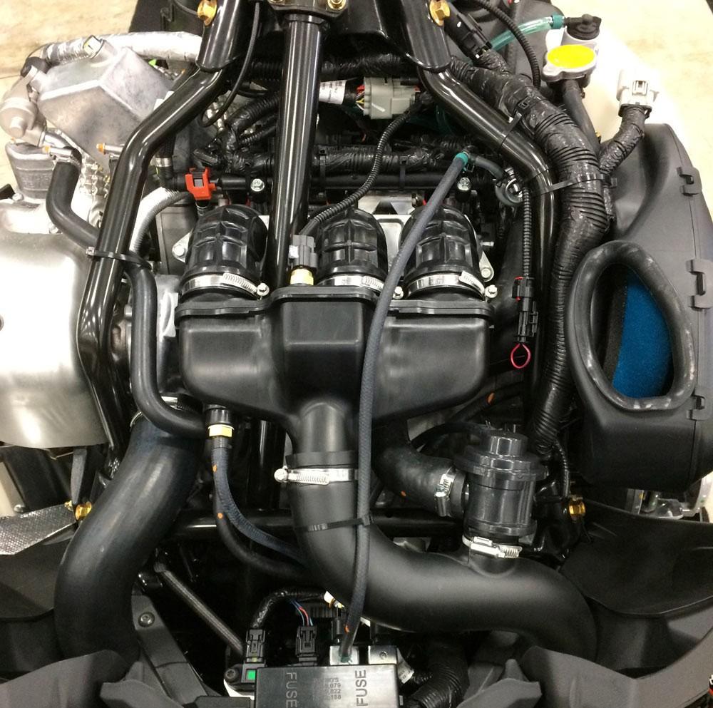 Snowmobile Turbo Engine