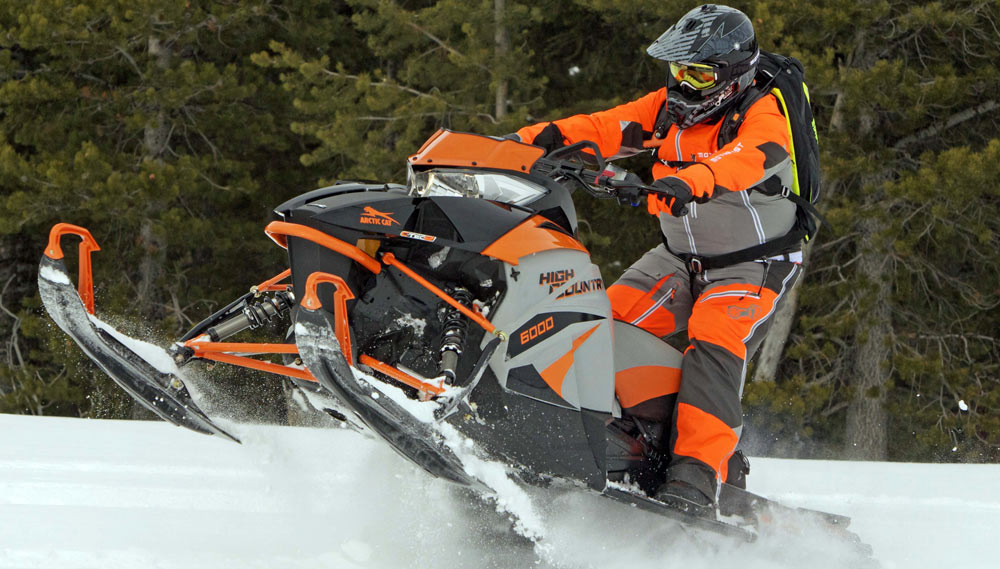 Tundra Limited 2016 >> 2018 Arctic Cat XF6000 High Country Review - Snowmobile.com