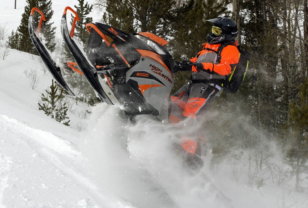 2018 Arctic Cat XF6000 High Country Skis Up