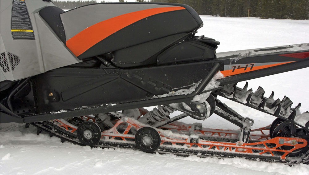 2018 Arctic Cat XF6000 High Country Track