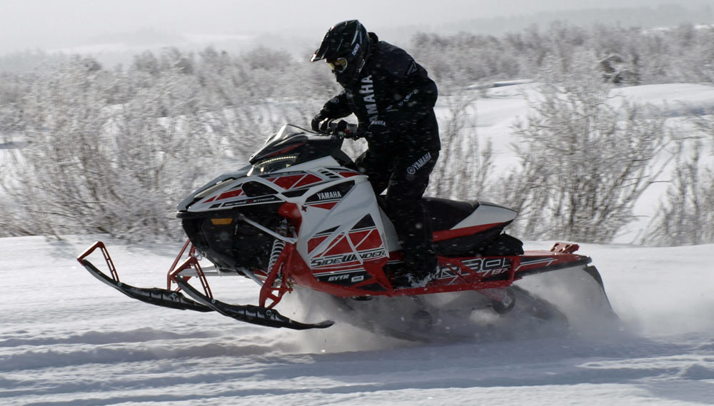 Arctic Cat Snowmobiles >> 2018 Yamaha Sidewinder L-TX LE 50th Anniversary Review